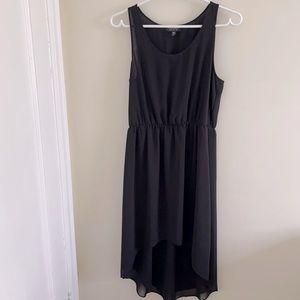 Topshop High Low Black Dress Size 6
